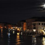 Venice Grande Canal at Night