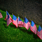 Normandy American Flags